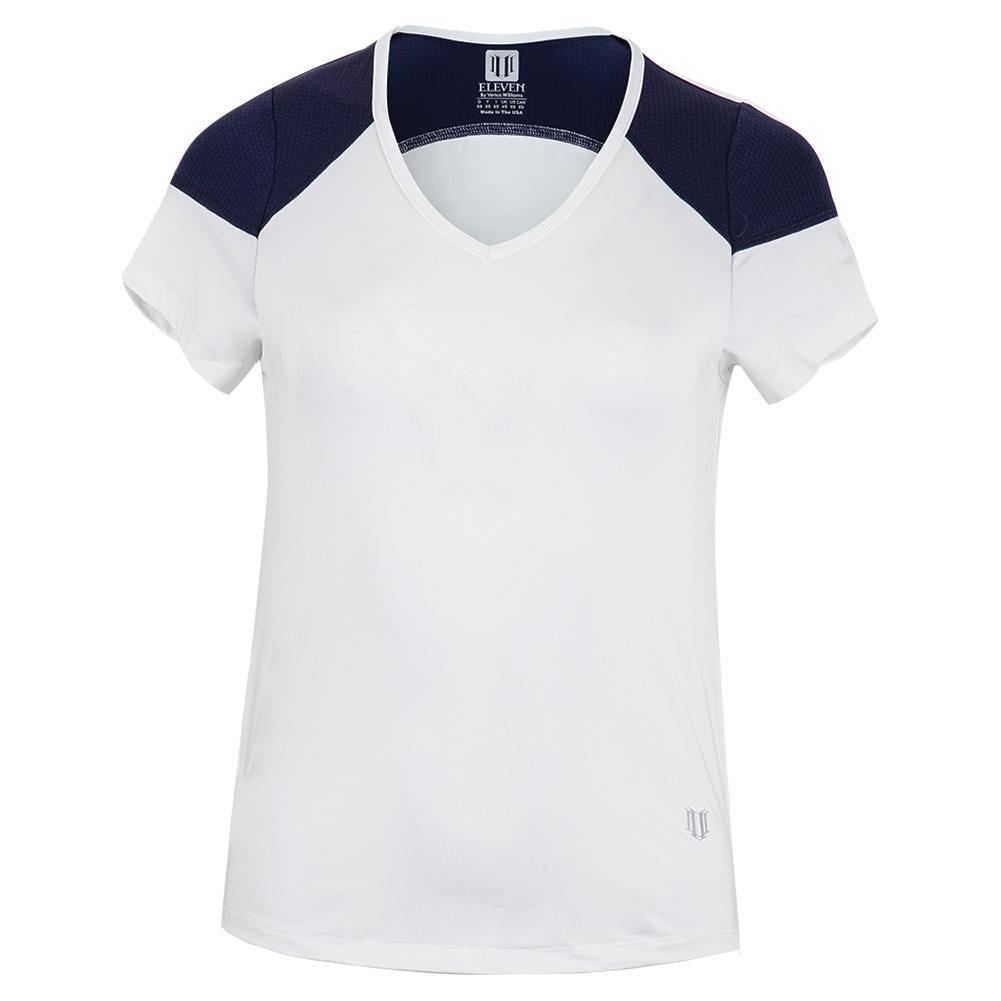 Women's Turn Around Tennis Cap Sleeve White