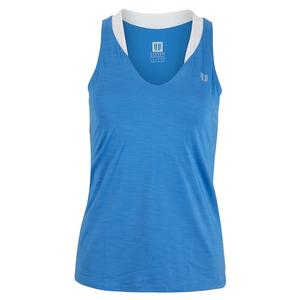 Women`s Love Tennis Tank Marine Blue