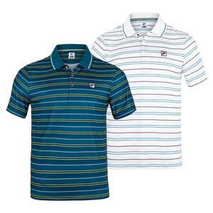 Men`s Advantage Striped Tennis Polo