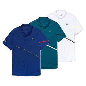Men`s Mixed Media Tennis Polo