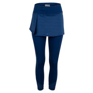 Women`s Pleat Tennis Skapri Midnight Blue