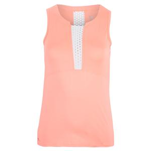 Women`s Zariyah Tennis Tank Sunrise