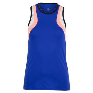Women`s Andalusia Tennis Tank Space Blue