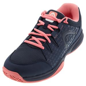 Women`s Brazer Tennis Shoes Dark Blue and Pink