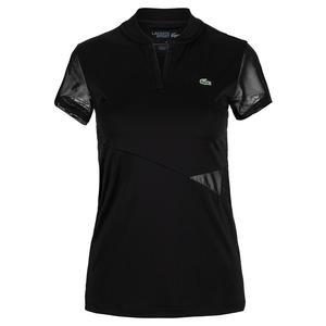 Women`s Ultra Dry Banana Collar Tennis Polo