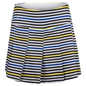 Women`s News Flash 14 Inch Tennis Skort Print
