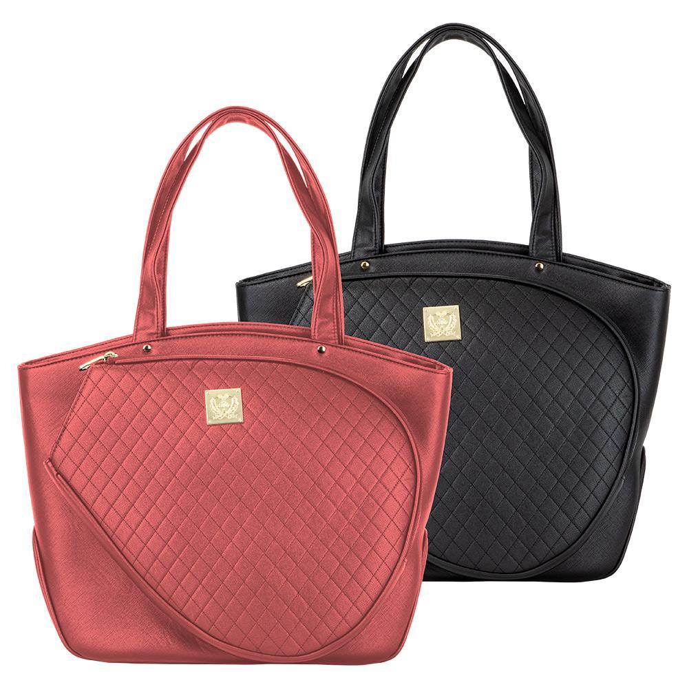Cassanova Quilted Tennis Bag