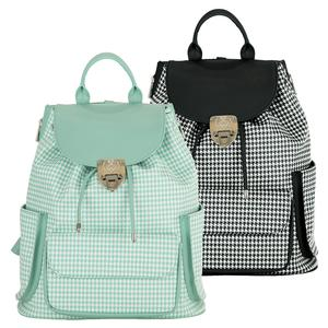 Hampton Houndstooth Tennis Backpack