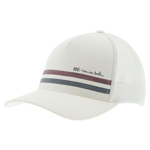 Men`s Easy Does It Tennis Hat White