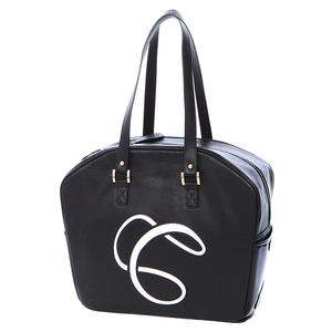 Signature Logo Tennis Bag Black