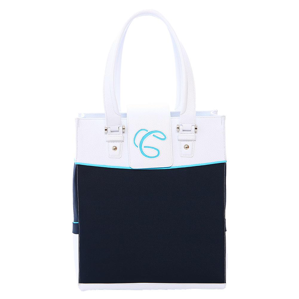 Rendezvous Tennis Tote Navy And White