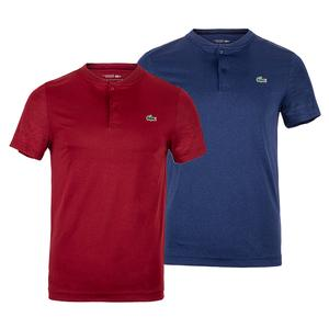 Men`s Novak Djokovic Mockneck Tennis Polo