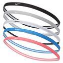 Girls` Swoosh Sport Headbands 6 Pack 2.0