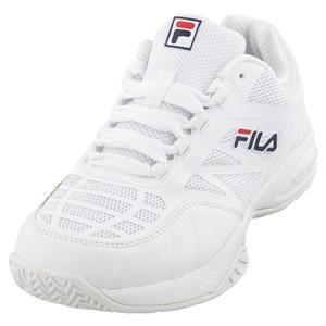 Juniors` Axilus 2 Energized Tennis Shoes White