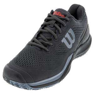 Men`s Rush Pro 3.0 Tennis Shoes Ebony and Black