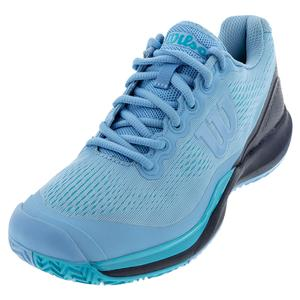 Women`s Rush Pro 3.0 Tennis Shoes Alaskan Blue and Peacoat