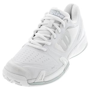 Men`s Rush Pro 2.5 Tennis Shoes White and Blue Pearl