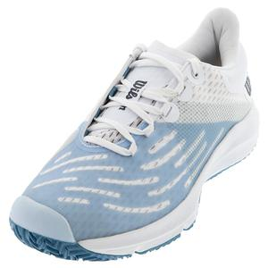 Women`s Kaos 3.0 Tennis Shoes White and Omphalodes