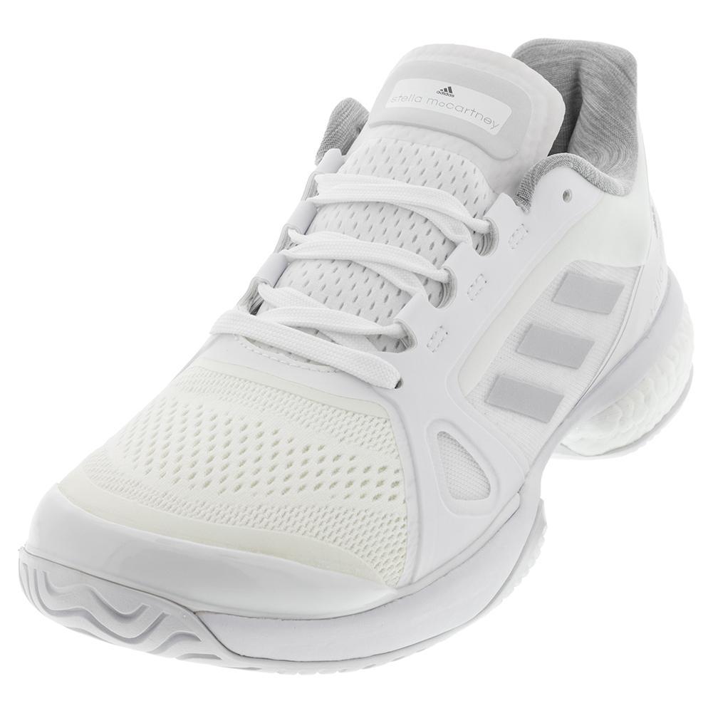Women's Stella Court Tennis Shoes Triple White