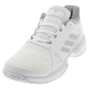 Women`s Stella Court Tennis Shoes Triple White