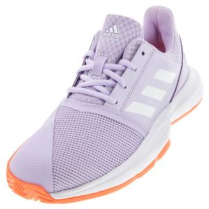 Juniors` CourtJam XJ Tennis Shoes Purple Tint and White