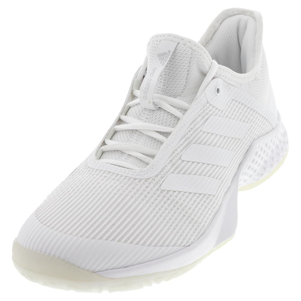 Juniors ` Adizero Club 2 Tennis Shoes White