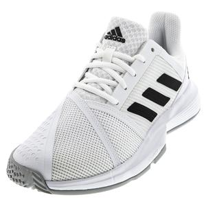 Women`s CourtJam Bounce Wide Tennis Shoes White and Core Black