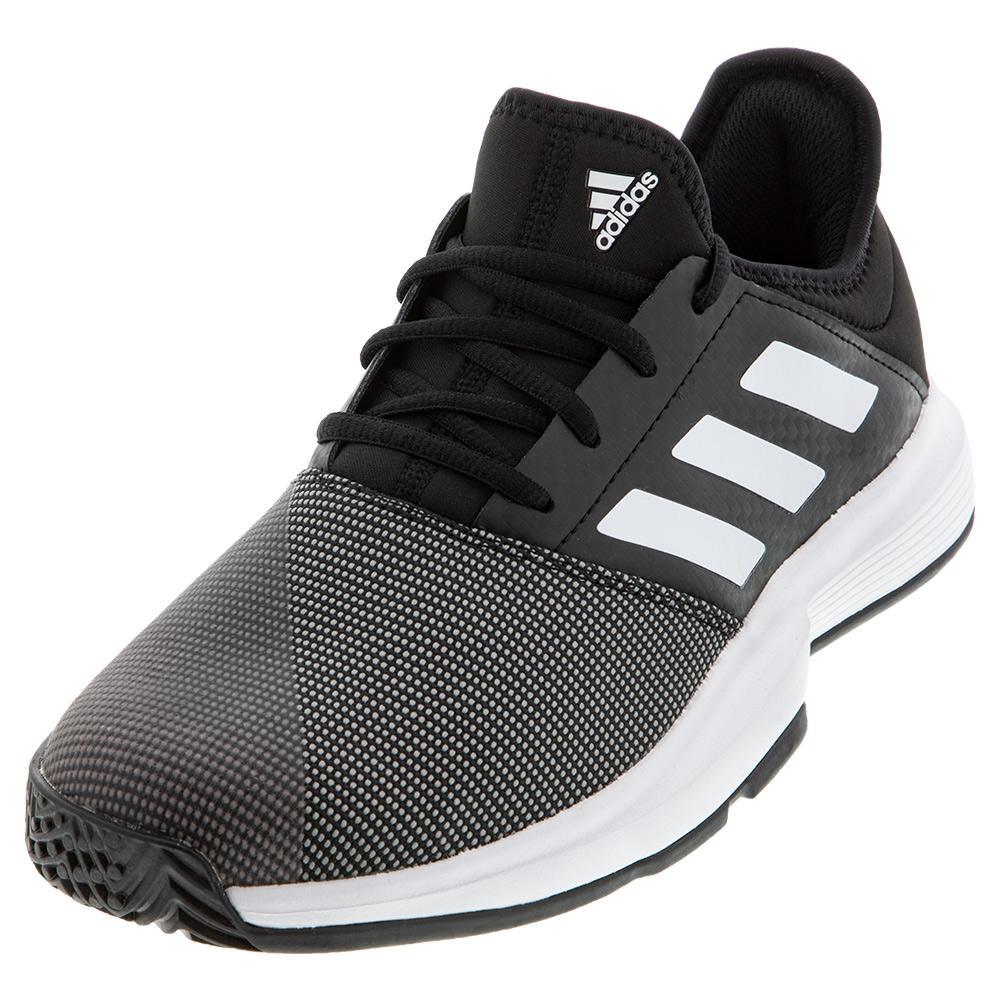Women's Gamecourt Tennis Shoes Core Black And White