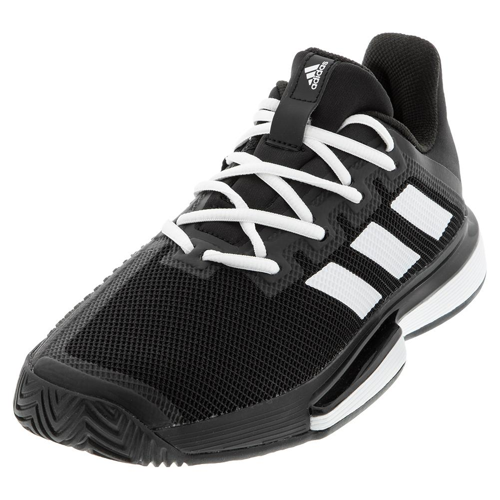 Women's Solematch Bounce Tennis Shoes Core Black And White