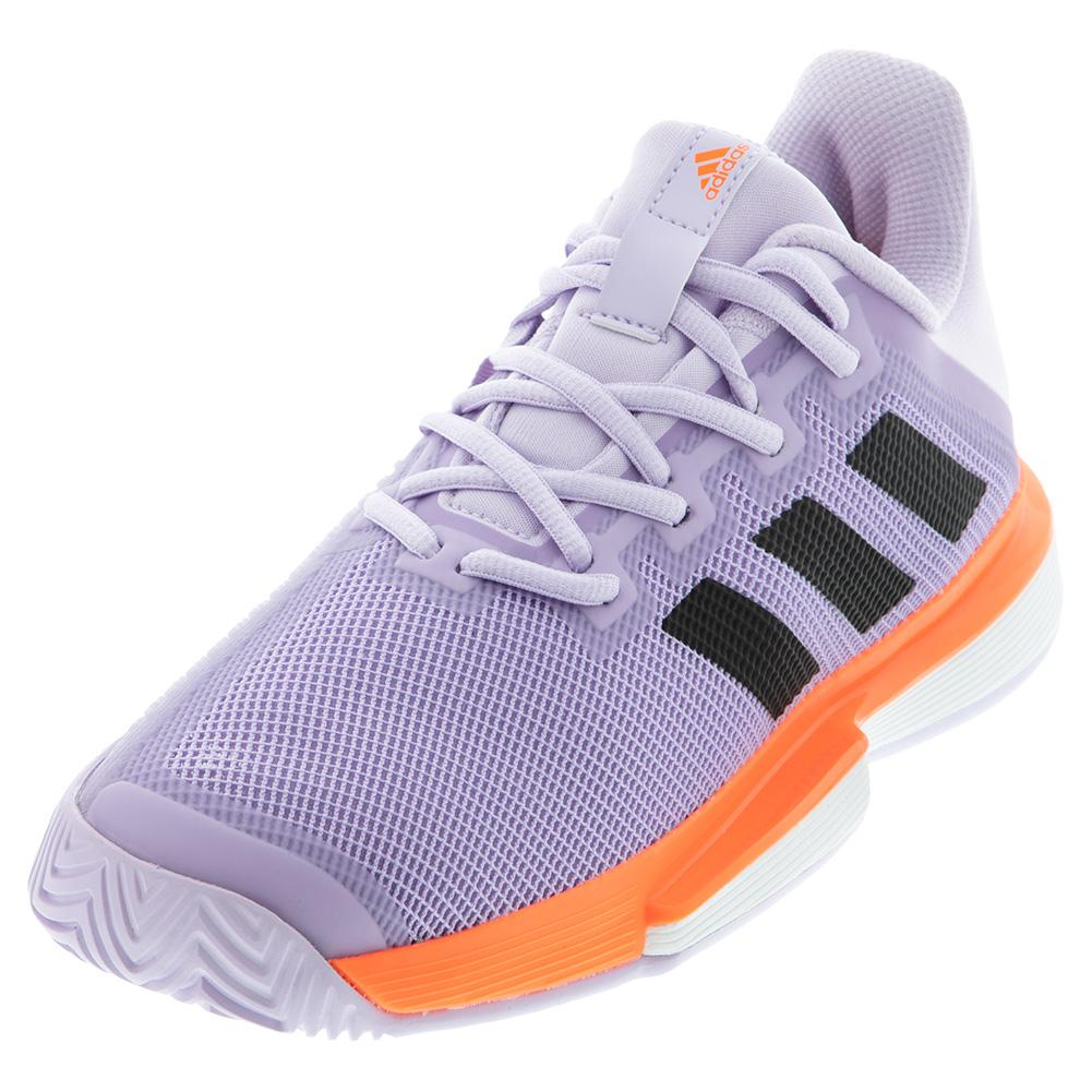 Women's Solematch Bounce Tennis Shoes Purple Tint And Core Black