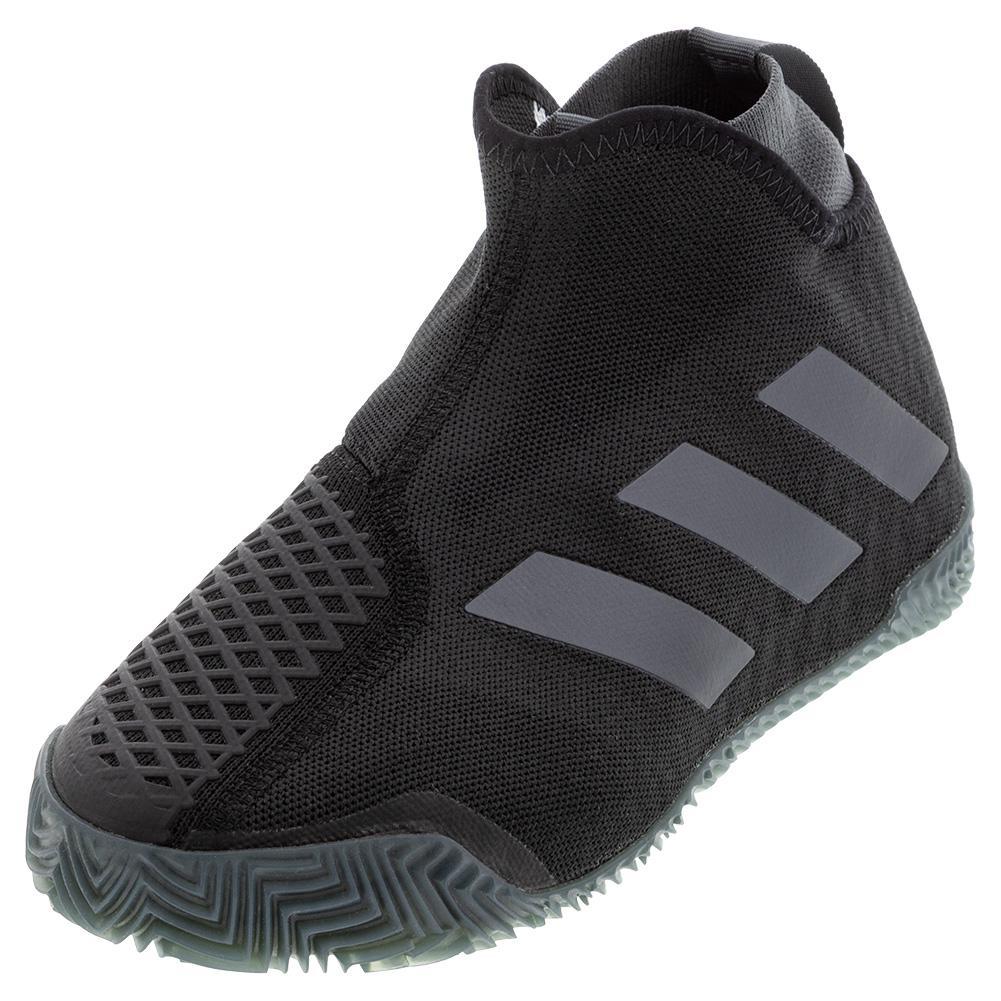 Women's Stycon Clay Tennis Shoes Core Black And Night Metallic