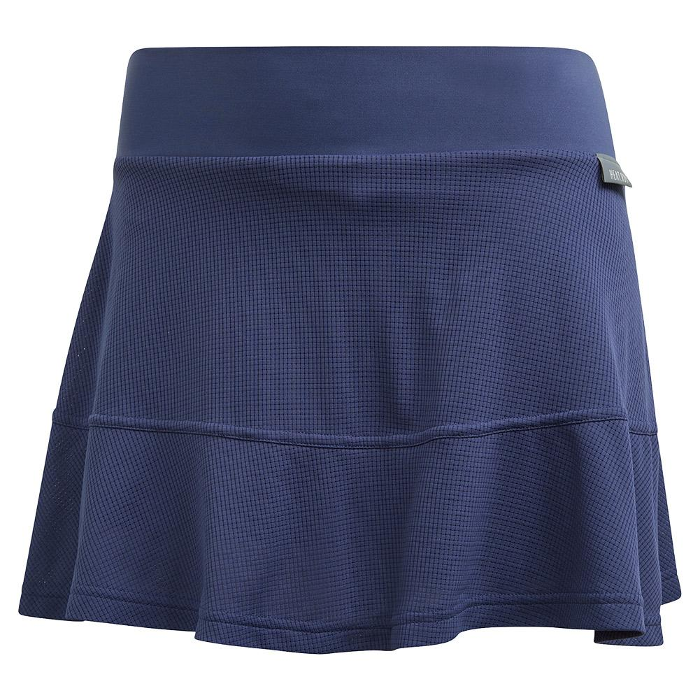 Women's Heat.Rdy 13 Inch Tennis Skort Tech Indigo And Dash Green