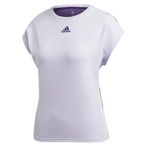Women`s HEAT.RDY Tennis Top Purple Tint and Tech Purple