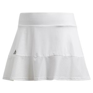 Women`s Game Set Match 13 Inch Tennis Skort White