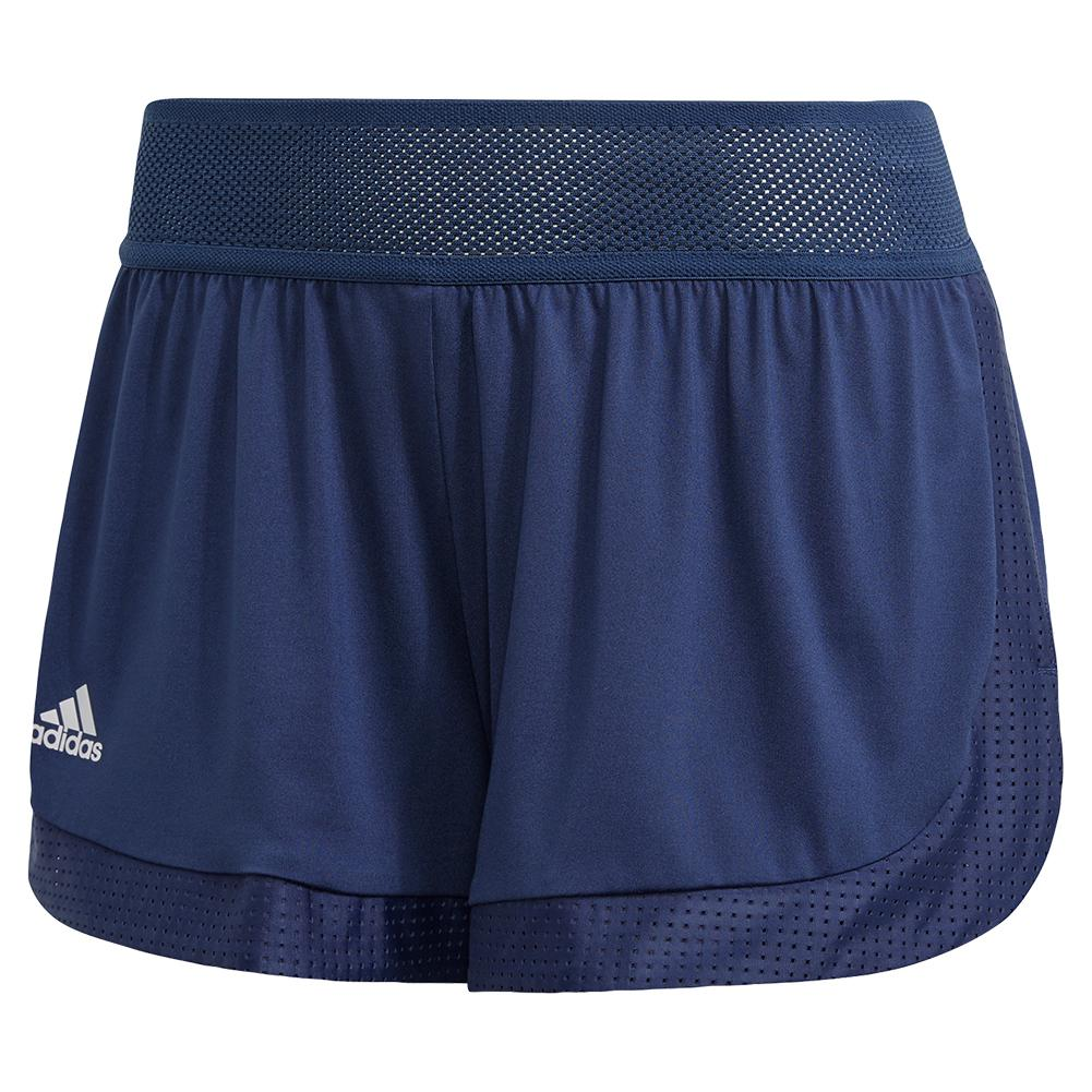 Women's Game Set Match 2in1 Tennis Short Tech Indigo
