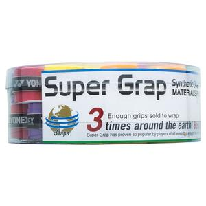 Super Grap Tennis Overgrip 36 Piece Bucket