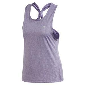 Women`s Club Tie Tennis Tank Tech Purple and Matte Silver