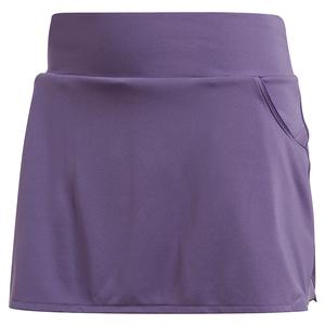 Women`s Club Tennis Skort Tech Purple and Matte Silver