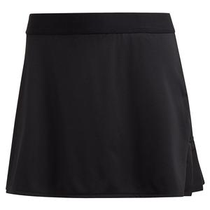 Women`s Club 15 Inch Tennis Skort Black and Matte Silver