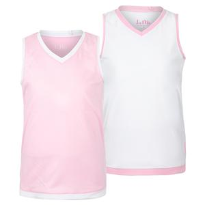 Girls` V-Neck Tennis Tank