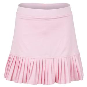 Girls` Knife Pleated Tennis Skort Pink