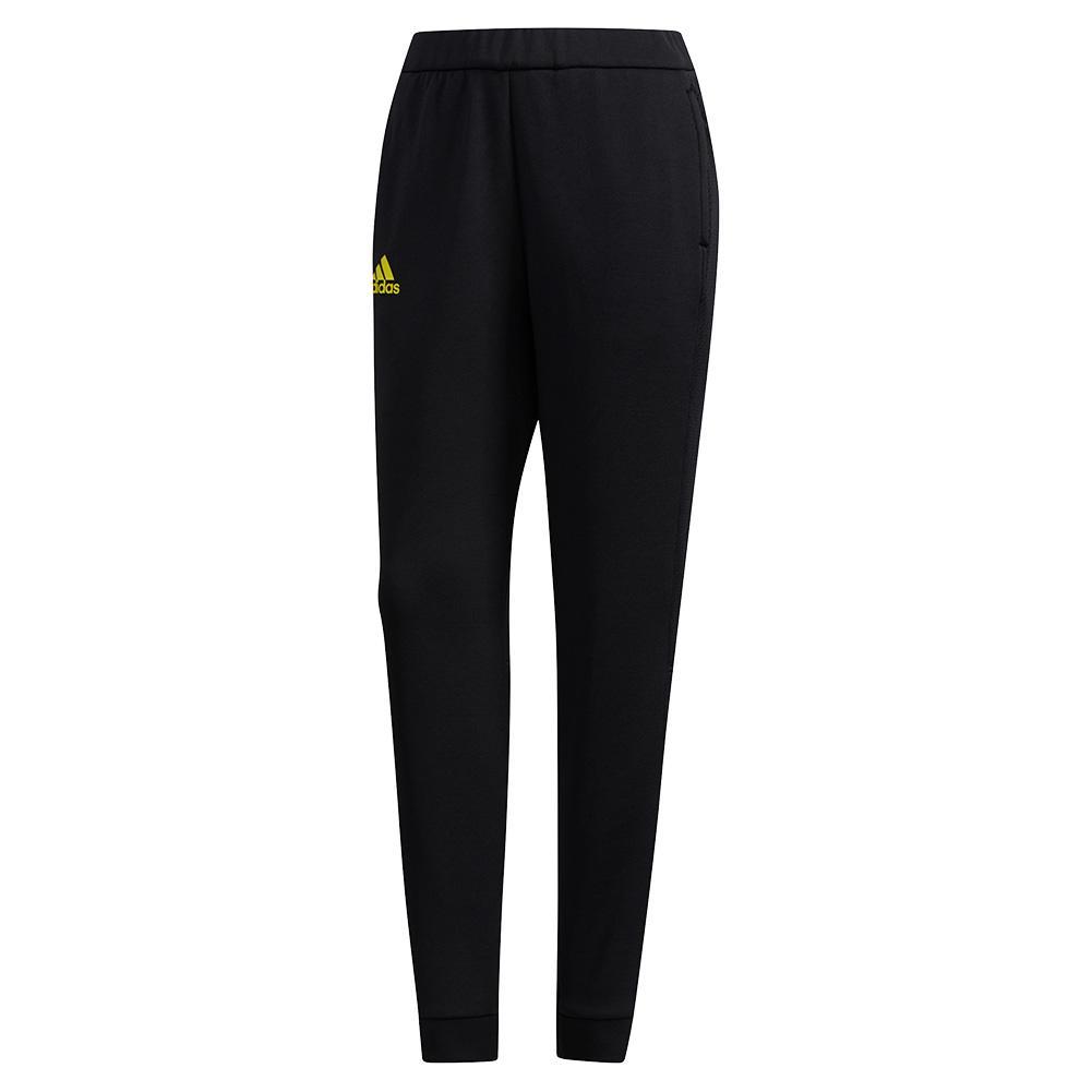 Women's Club Knit Tennis Pant Black