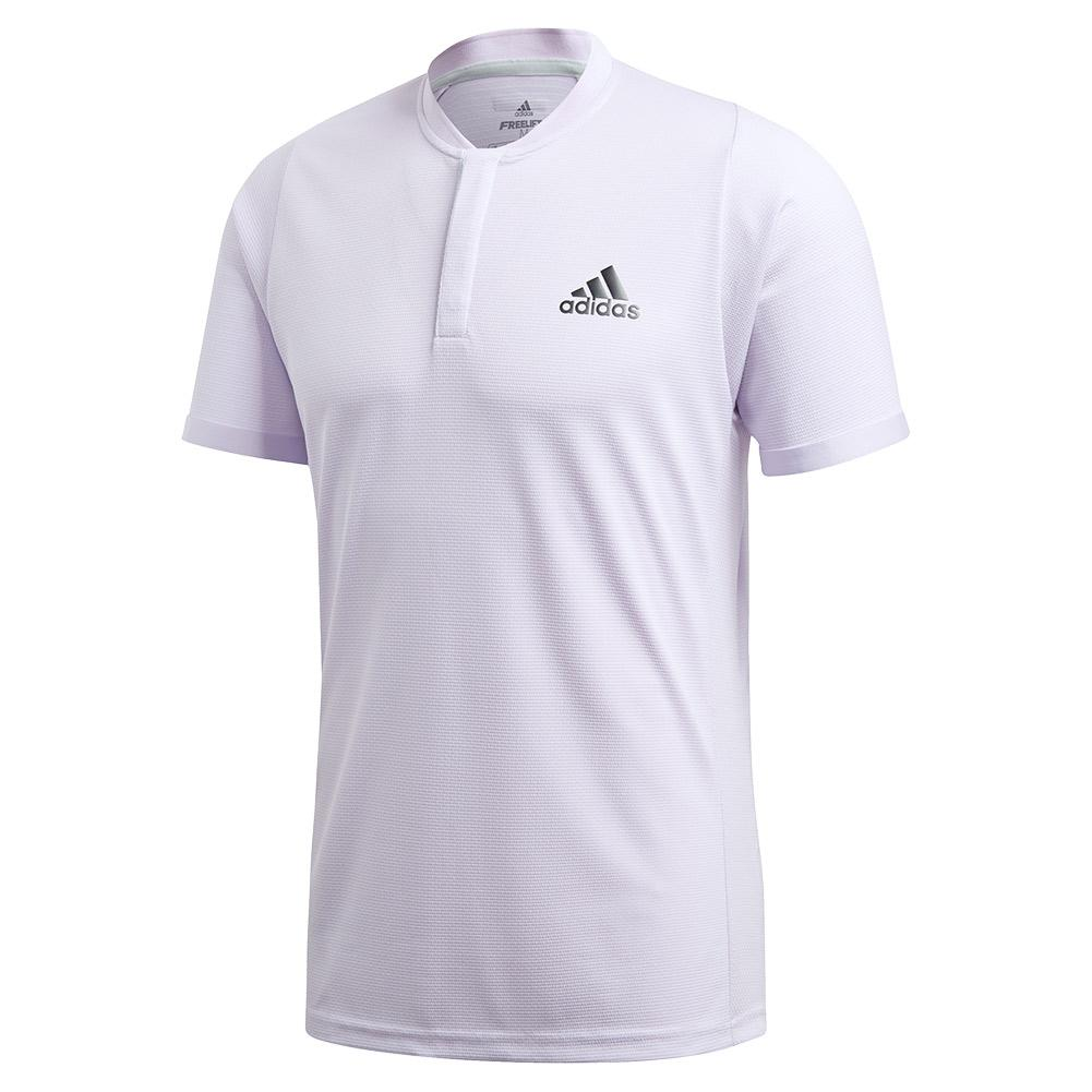 Men's Heat.Rdy Freelift Tennis Polo Purple Tint And Legend Earth