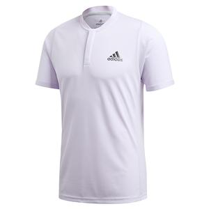 Men`s HEAT.RDY FreeLift Tennis Polo Purple Tint and Legend Earth