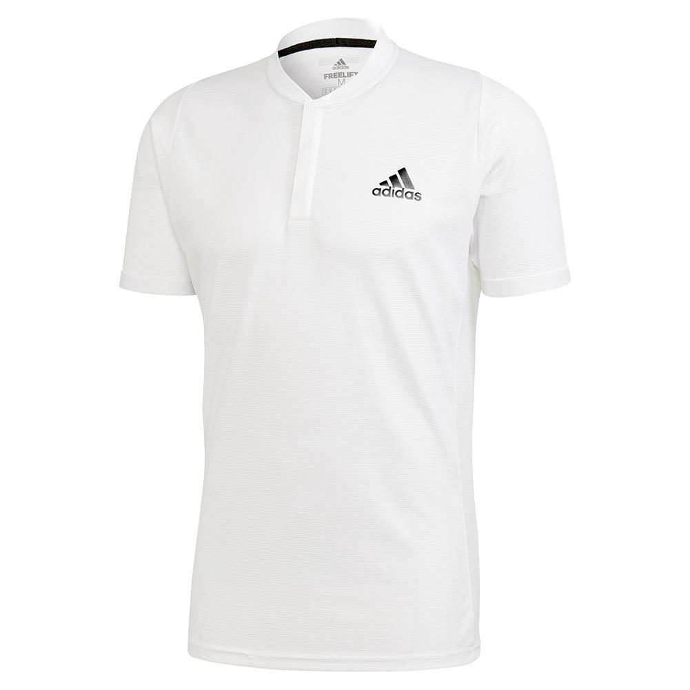 Men's Heat.Rdy Freelift Tennis Polo White And Legend Earth