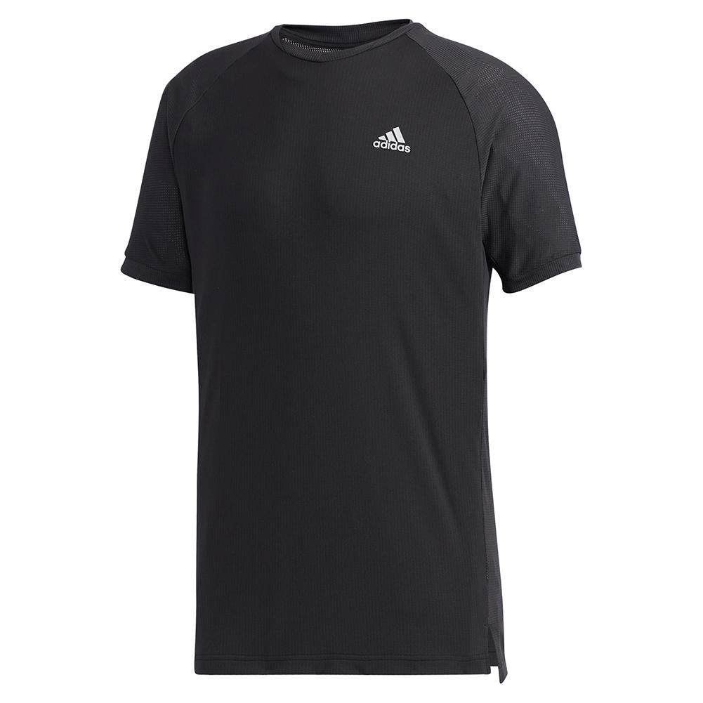 Men's Heat.Rdy Club Tennis Top Black