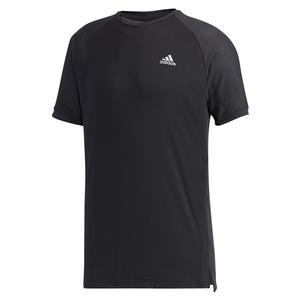 Men`s HEAT.RDY Color Block Tennis Top Black