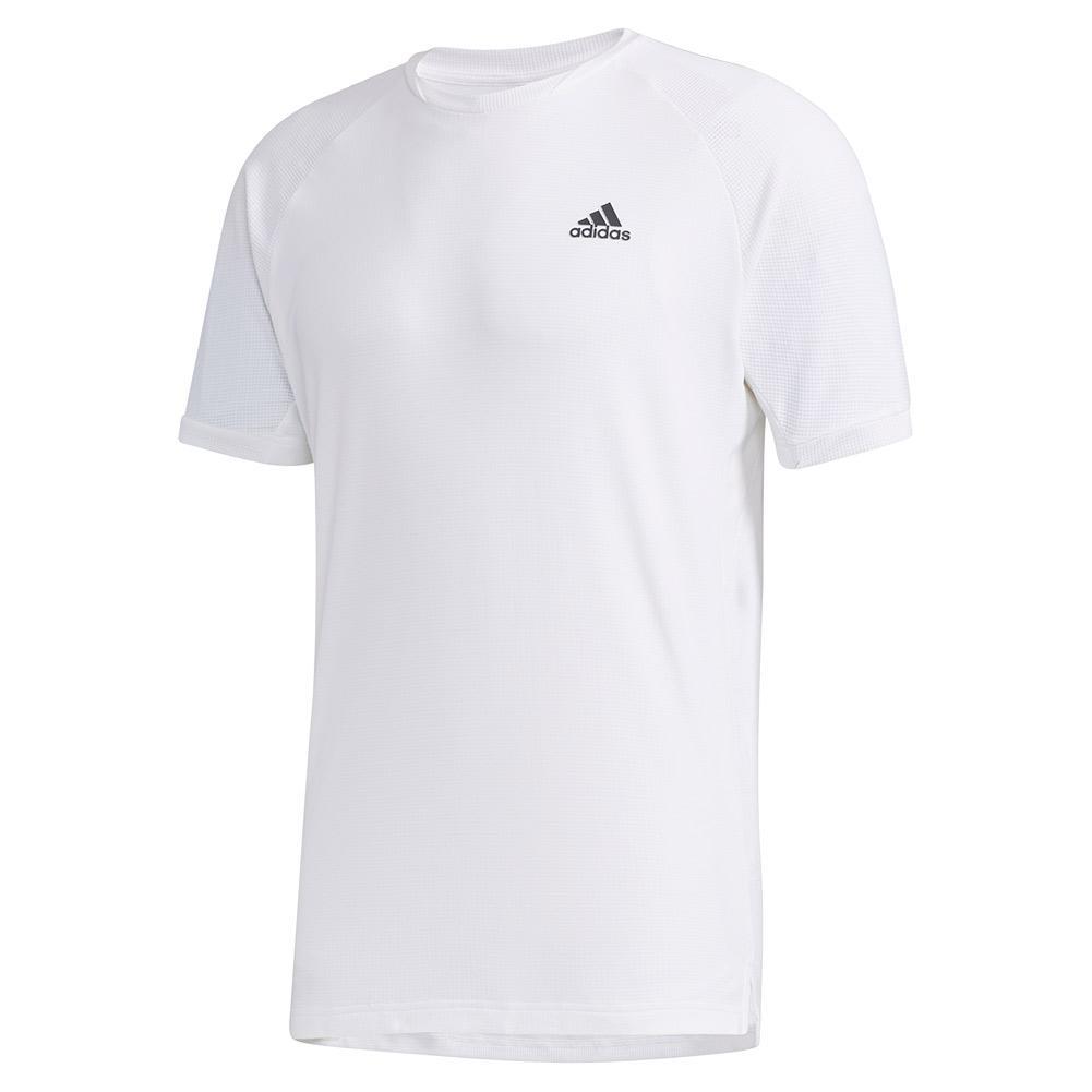 Men's Heat.Rdy Color Block Tennis Top White