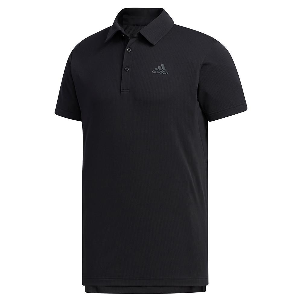 Men's Heat.Rdy Color Block Tennis Polo Black
