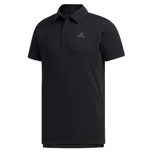 Men`s HEAT.RDY Color Block Tennis Polo Black